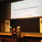 Cop 21- Green Awards- Présentation de The Years of Living Dangerously par Arnold Schwarzenegger